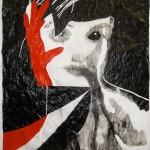Adriana Molder, Novo, acrylic on tracing paper, 150x100cm