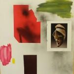 Celebretion, 2016, 70cm x 50 cm, colagge on canvas