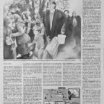 007 El Mundo, Pagina 2, Domingo 23 de agosto de 1992, 56cmx76cm, Ink wash, 2014