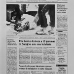 013 El Pais__31 August 1992_Front Page_Inkwash on paper_51x66cm